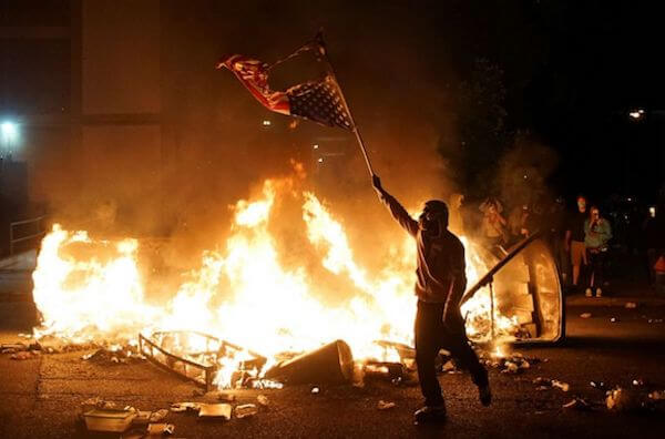 Riot in Saint Louis